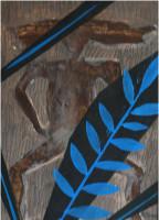 akril na papiru / 50x37 cm